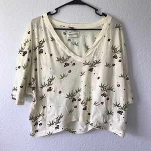 Urban outfitters Crop top tee